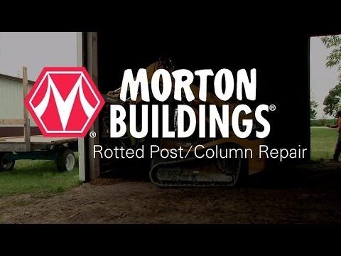 Morton Buildings Rotted Post/Column Repair
