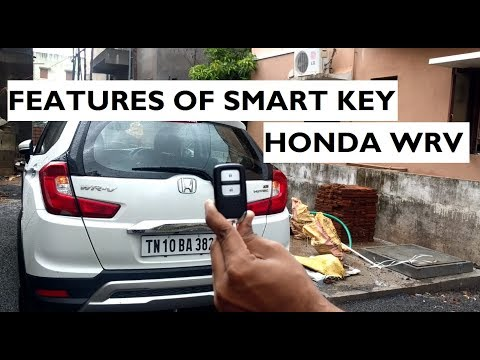 Features of Smart Key in Honda WRV