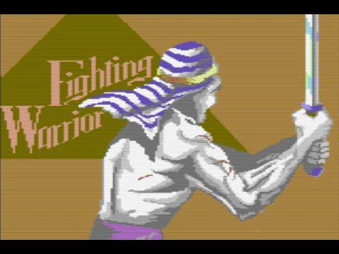 RETROJuegos Clásico ... Fighting Warrior © 1985 Melbourne House Commodore 64 -Review de Fabio Didone