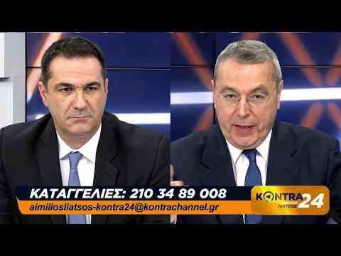 Tάκης Διαμαντόπουλος με τον Αιμ. Λιάτσο  (22-4-2019)