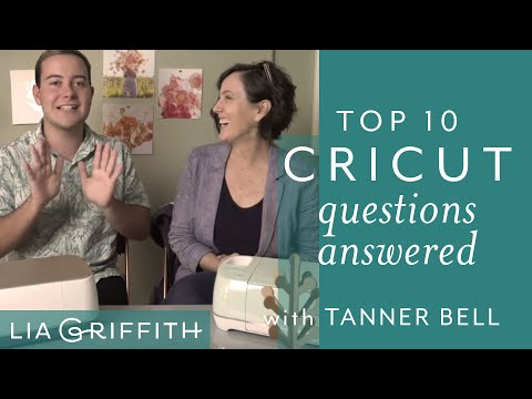 Top 10 Cricut Questions Answered!