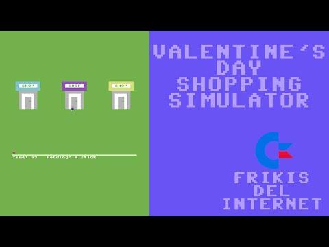 Valentine's Day Shopping Simulator (c64) - Walkthrough comentado (RTA)