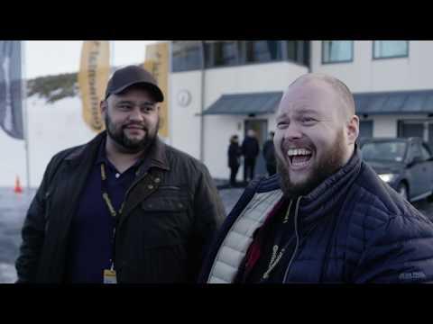Vinterkjøring i Östersund | Dekktesterne Sesong 2 | Continental Norge