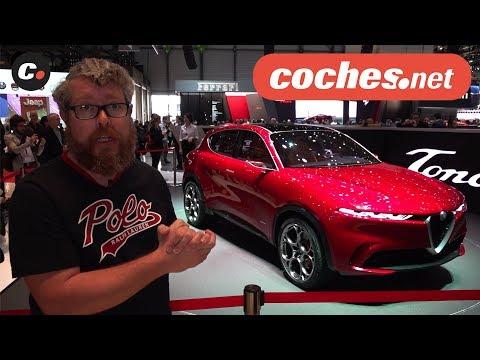 Alfa Romeo Tonale  Concept | Salón de Ginebra 2019 en español | SUV | coches.net