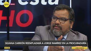 """Julio Arbizu: """"La ministra de justicia sabía de la reunión con exdirectivos de Odebrecht"""""""