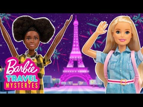 Barbie und Daisy fliegen nach Paris, um das Mysterium zu lösen | Barbie Travel Mysteries: Finale