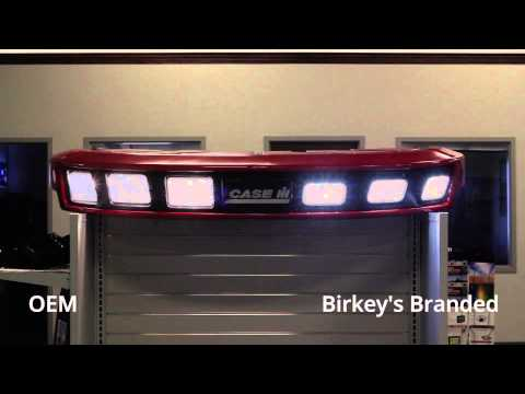 Birkey's Custom Branded LED Lights