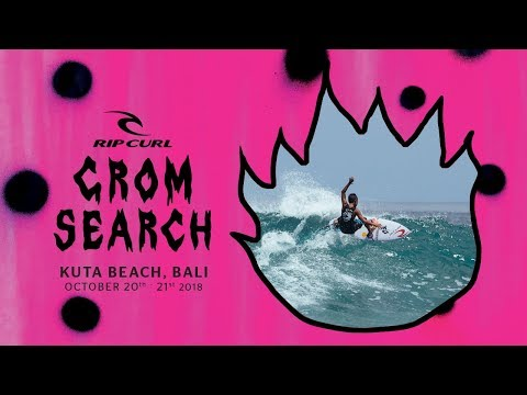 2018 Rip Curl GromSearch - Indonesian Finals