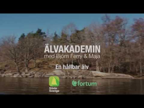 Älvakademin med Björn Ferry och Maja (3 av 4) En Hållbar Älv
