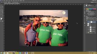 Photoshop CS6 Tutorial - 73 - Adjustments on Just One Layer