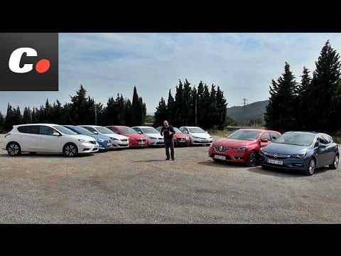 Comparativa compactos diésel 110-120 CV /Auris, Focus, Astra, i30, León, Mégane, Pulsar, 308 y Civic