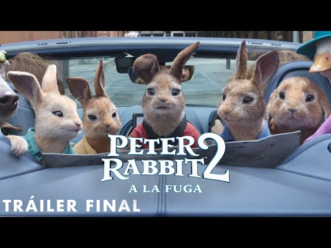 PETER RABBIT 2: A LA FUGA - Tráiler final en ESPAÑOL   Sony Pictures España