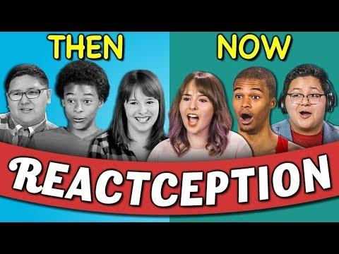 connectYoutube - COLLEGE KIDS REACT TO THEMSELVES ON TEENS REACT #6