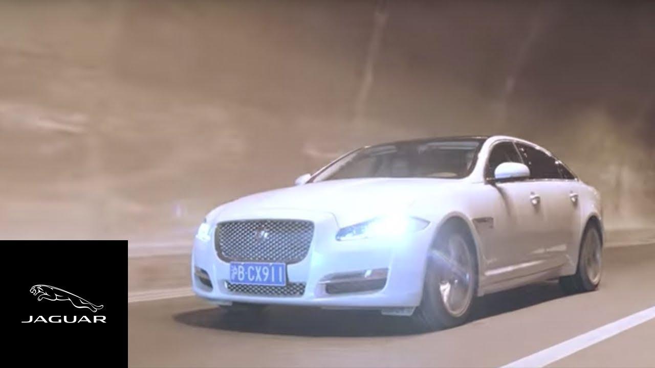 Jaguar XJ   Driving Innovation on China's Yaxi Skyroad Expressway