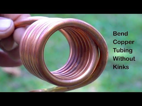 Bending copper tubing solar hot water heat exchanger Detailed Version
