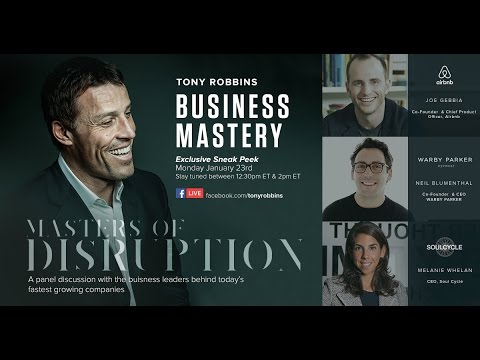 Tony Robbins Business Mastery event - Palm Beach Florida 2017