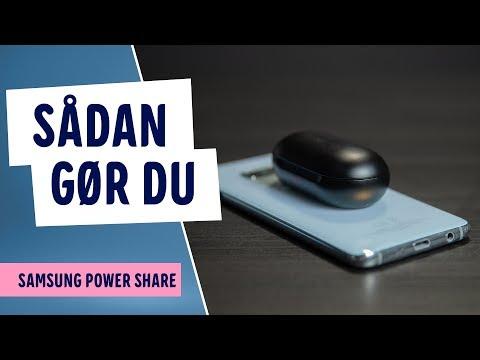 Sådan bruger du Samsung Power Share