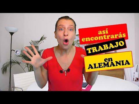 Encuentra TRABAJO en ALEMANIA    Currículum - Lebenslauf - alemán