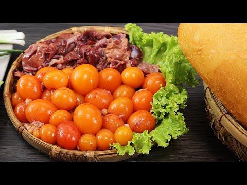 Cách làm LÒNG GÀ TRỨNG NON SỐT CAY Chấm Bánh Mì Ngon Xỉu