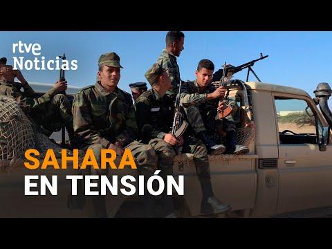 El FRENTE POLISARIO declara el ESTADO DE GUERRA denunciando a MARRUECOS | RTVE