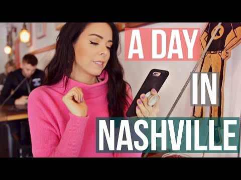 connectYoutube - A Day In My Life in NASHVILLE!