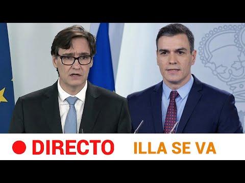 EN DIRECTO 🔴 SÁNCHEZ con ILLA en su ÚLTIMO acto como MINISTRO de SANIDAD   RTVE Noticias