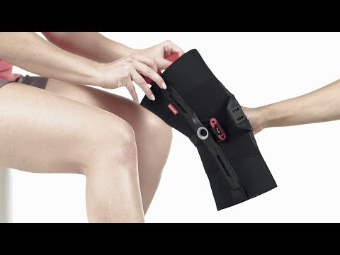 Patella Pro - Applying the knee orthosis