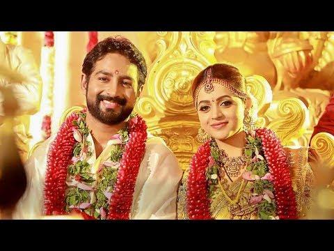 WOW! Bhavana - Naveen wedding Highlights   TK 825