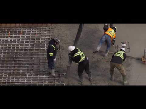 The Eglinton  Raft Slab Pour October 2016