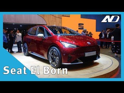 Seat El-Born   El primer auto eléctrico de la marca española   #GIMS2019