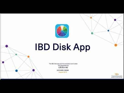 IBD Disk: supporting conversations about the impact of Crohn's disease and ulcerative colitis