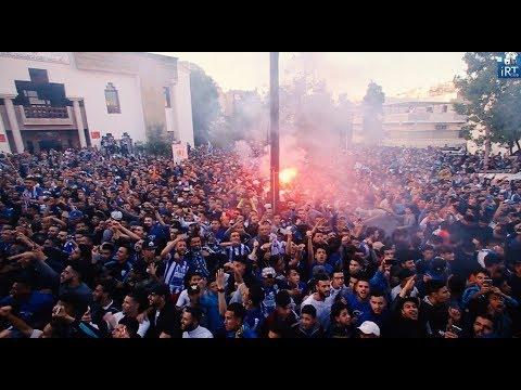 فيديو أجواء وكواليس لقاء جماهير اتحاد طنجة مع أبطال المغرب