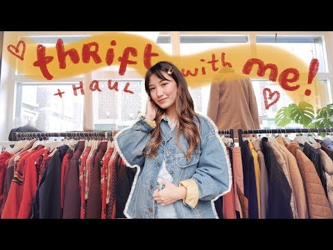 Video: come thrifting with me in london! + try on haul