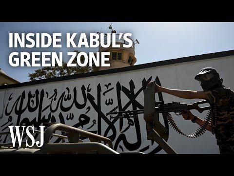 Inside Kabul's Green Zone, Taliban Fighters Guard Abandoned Embassies | WSJ – Wall Street Journal (YouTube)