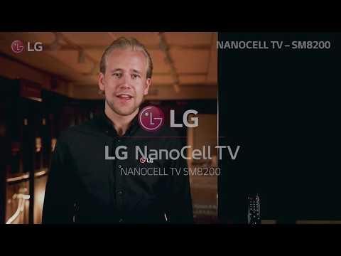 LG NanoCell SM8200 - Tyylikäs ja funktionaalinen NanoCell TV