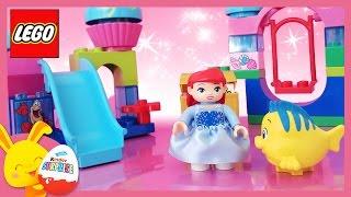 LEGO Duplo - Ariel, la petite sirène - Le toboggan et la balançoire - Princesses Disney - titounis