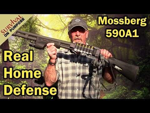 Joe Biden Approved Shotgun For Home Defense? Mossberg 590A1 & Surefire Forend