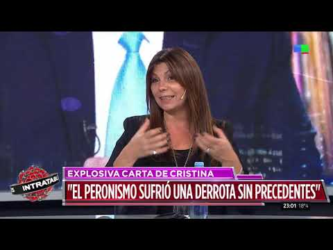 La carta de Cristina Kirchner a Alberto Fernández