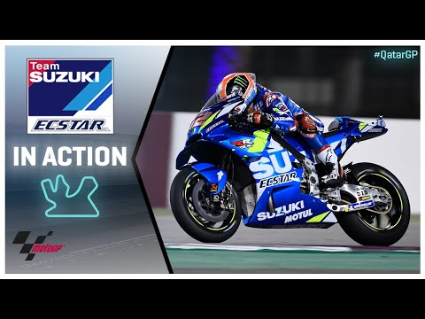 Suzuki in action: VisitQatar Grand Prix