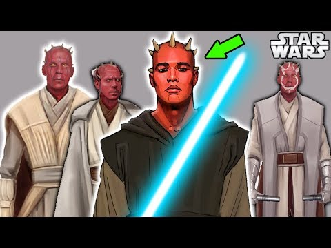 Darth Maul but as a Jedi Master - Star Wars Explained