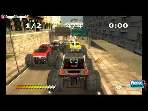 connectYoutube - Monster Trucks Mayhem / Nintendo Wii Truck Race Games / Gameplay