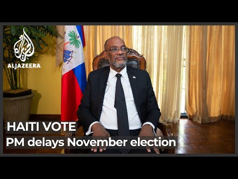 'Elections must be held as soon as possible,' Haiti PM says