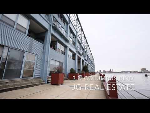 3 N Columbus Blvd #RL106- Amazing Penns Landing Waterfront Condo