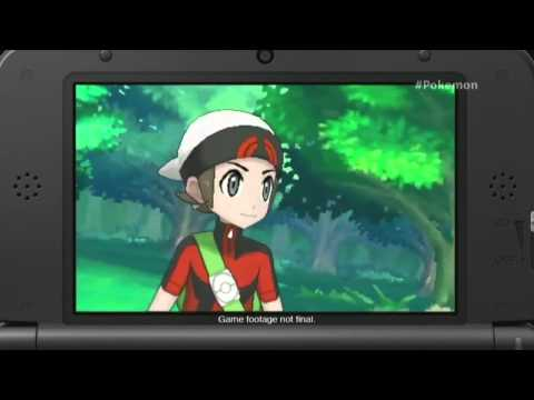 Pokemon Omega Ruby and Alpha Sapphire Trailer from E3 2014