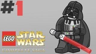 Lego Star Wars: The Complete Saga - Walkthrough - Part 1 - 100% Game Completion