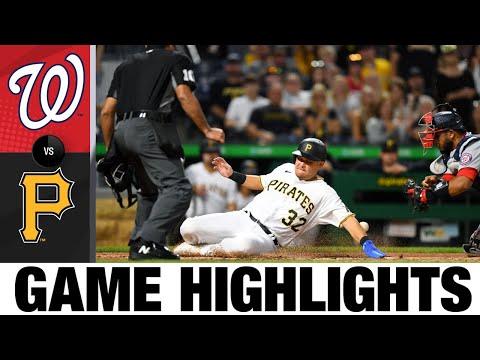 Nationals vs. Pirates Game Highlights (9/11/21) | MLB Highlights