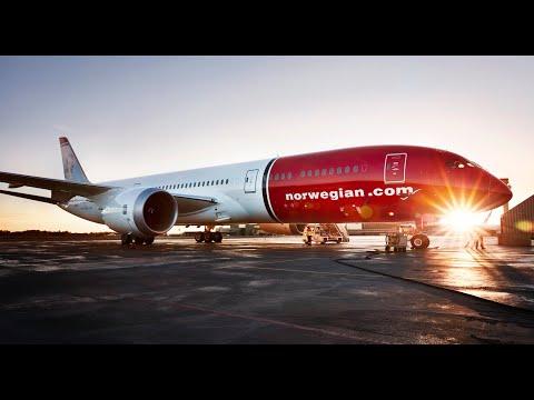 Norwegian is the greenest airline on transatlantic flights