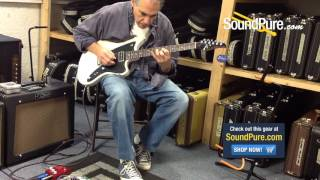 Tom Anderson Raven Superbird TV White - Quick n' Dirty