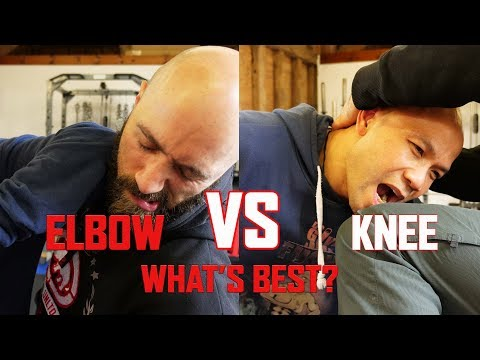 Elbow vs knee in Self defence combat which one is more effective? | Master Wong