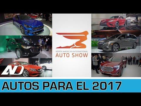 Autos que esperar para el 2017 / Kia Stinger, VW Tiguan, Chevrolet Traverse / NAIAS 2017